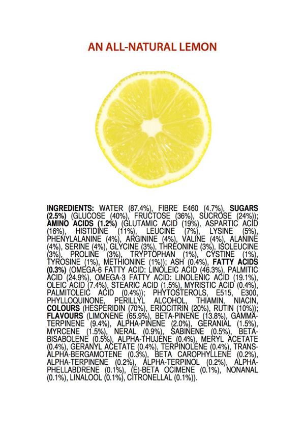 ingredients in natural foods