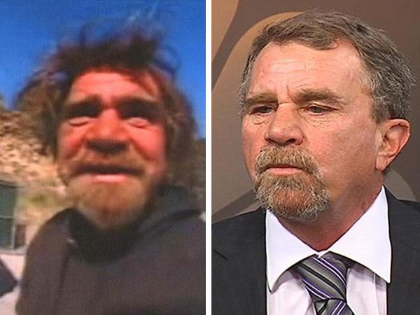 homeless man turns life around