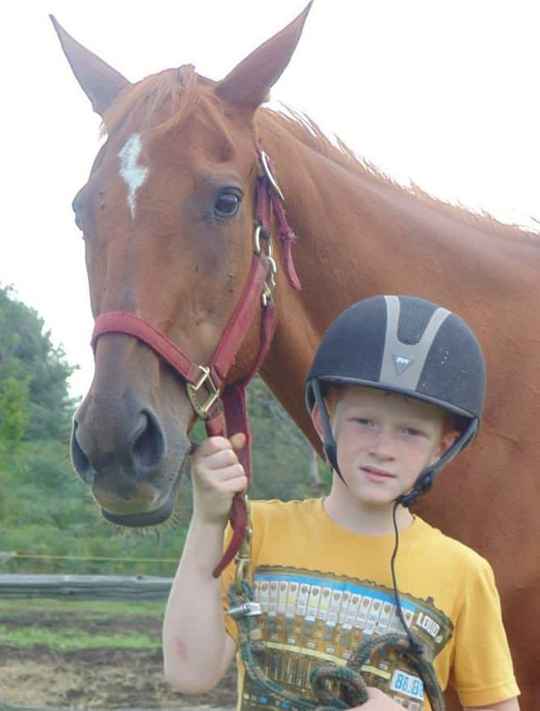 boy buys horse with birthday money