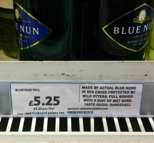 funny wine descriptions