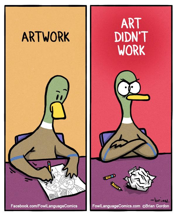 funny duck cartoons