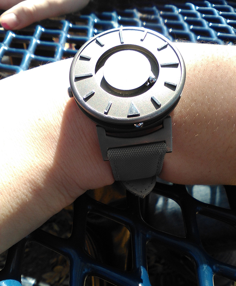 magentic watch for blind