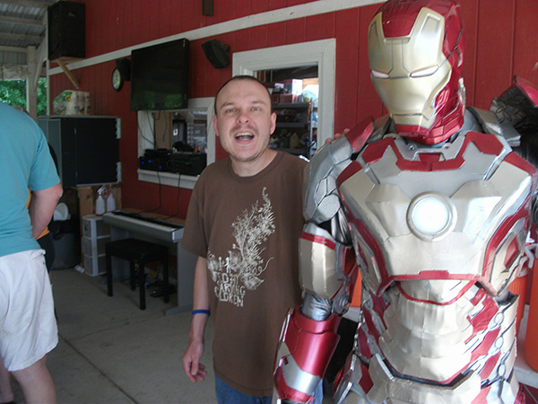 iron man charity