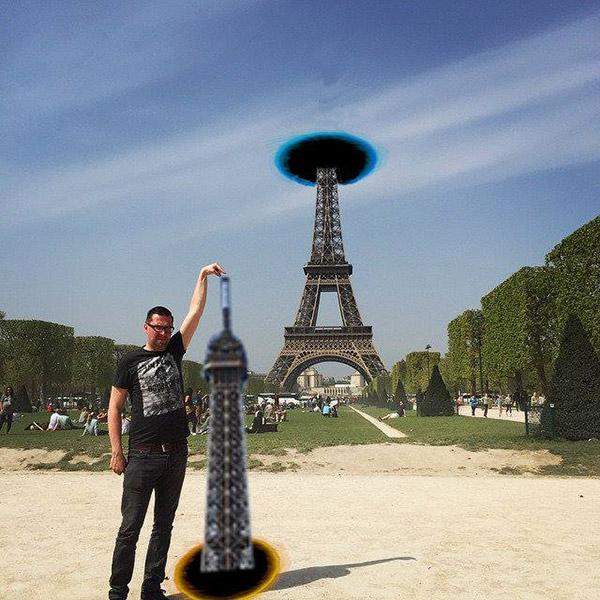 eiffel tower photoshop help internet