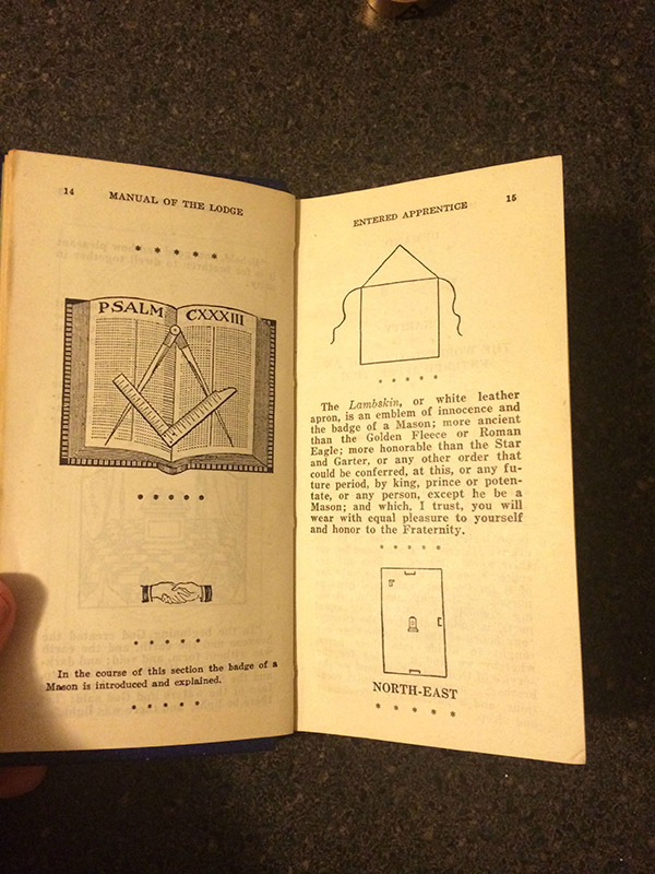grandfathers chest free mason historical documents