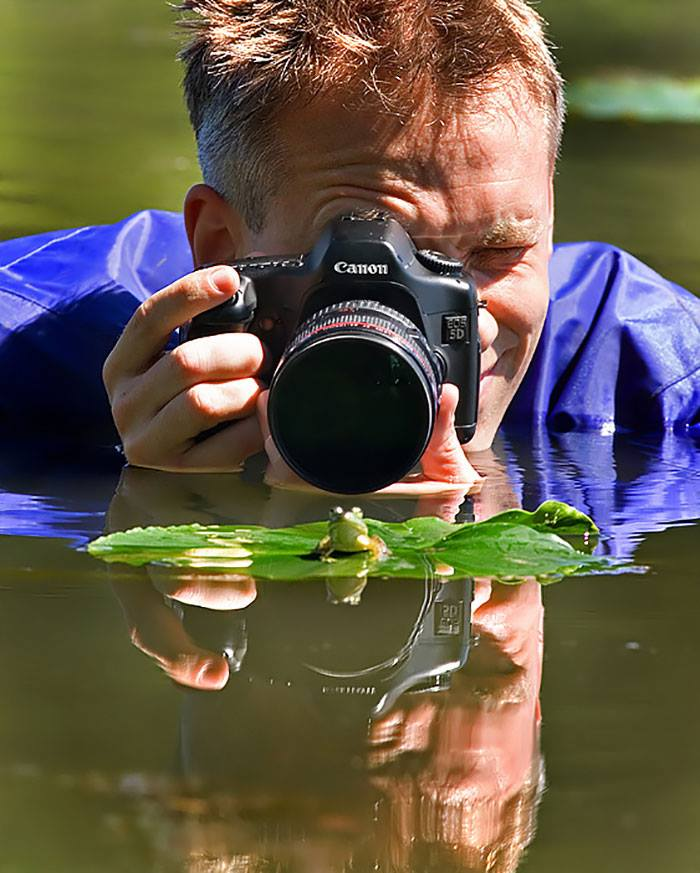 what photographers do to get the perfect shot
