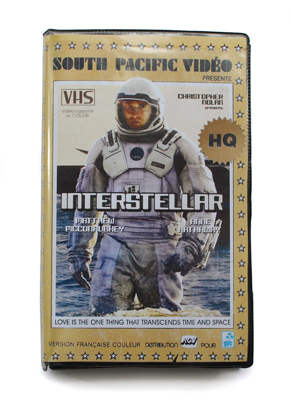 modern shows into VHS covers