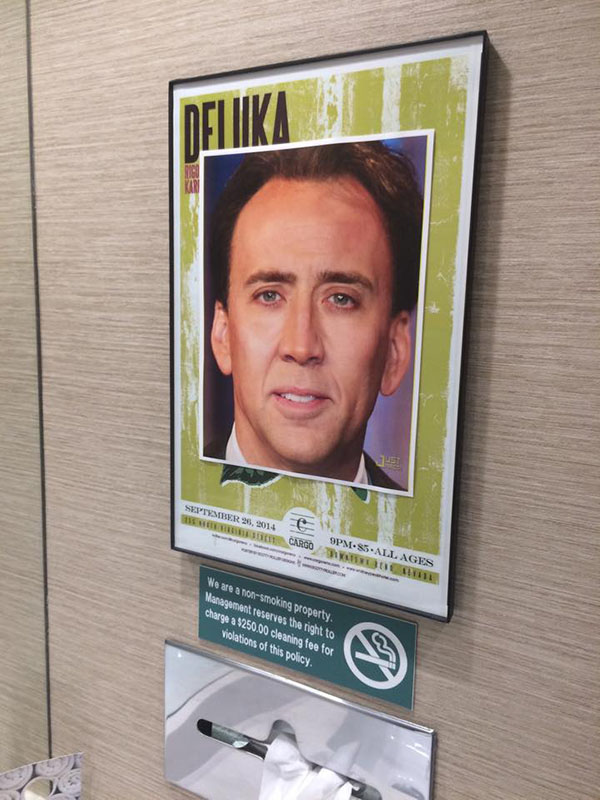 nic cage hotel pictures funny