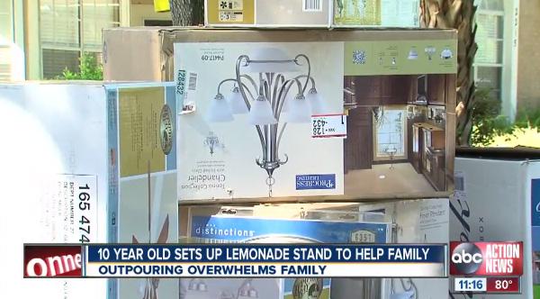 lemonade stand to save home
