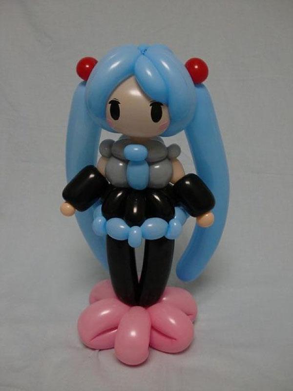 amazing balloon art