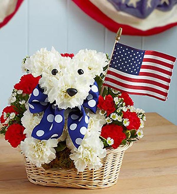 17 Beautiful Flower Arrangements For Dog Lovers