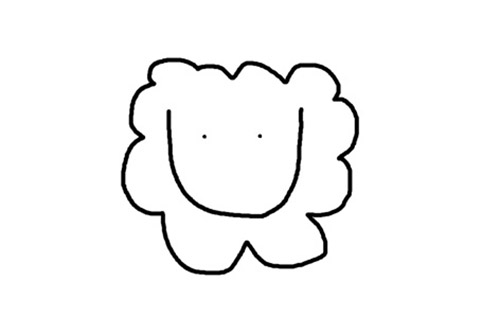 how to draw a sheep funny