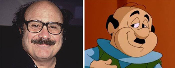 cartoons in real life
