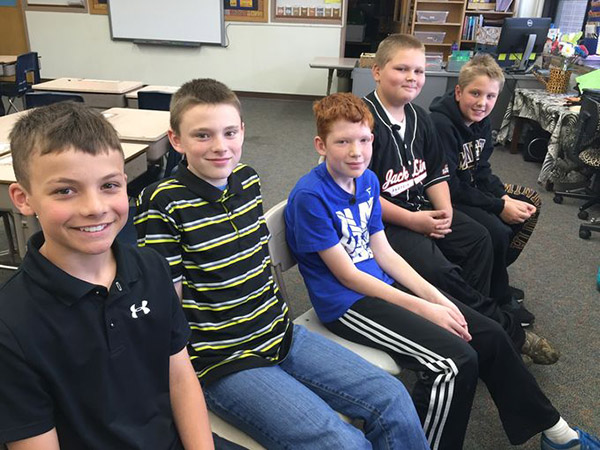 5th graders stand up for boy against bully