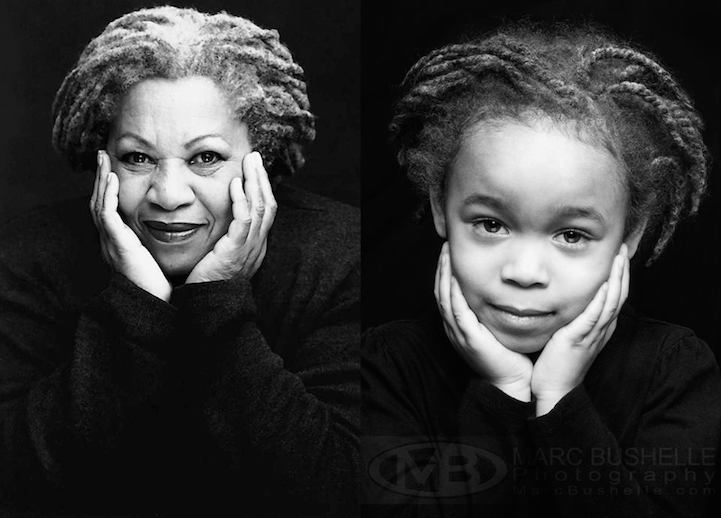 little girl photographed as inspiring women
