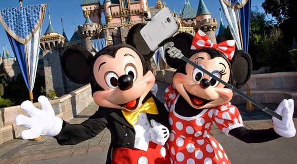 why disney banned selfie sticks