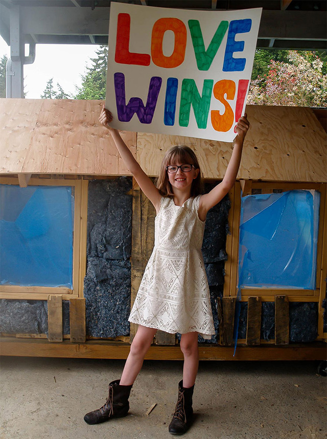 young girl builds shelters for homeless good news