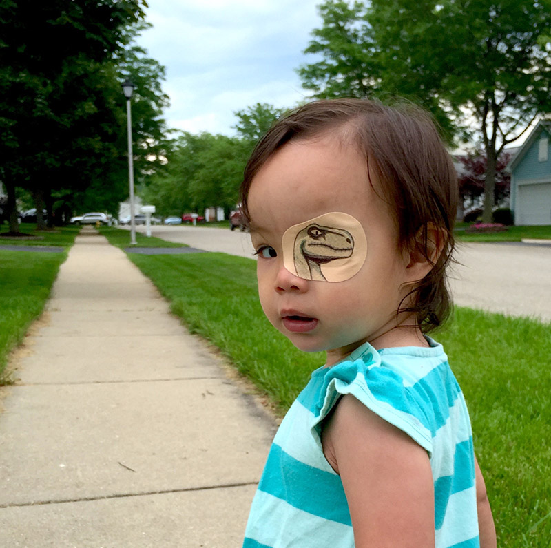 little girl eye patch designs