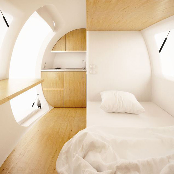 ecocapsule remote living