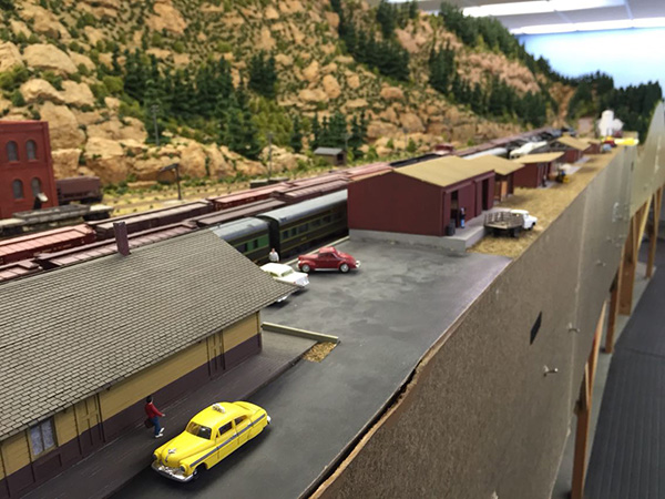 15 years basement into model railroad