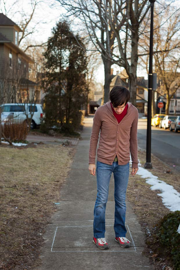 artist imagines mental illness anxiety