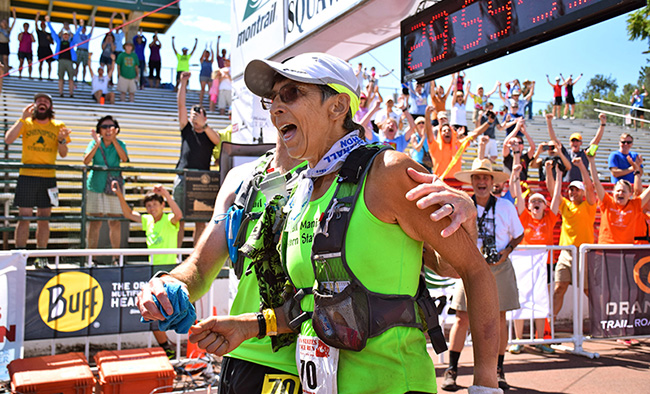70 year old finishes 100 mile race