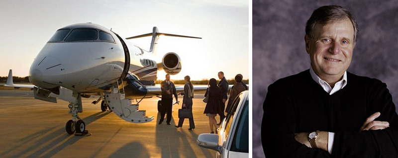 ceo flies moms to see sons private jet