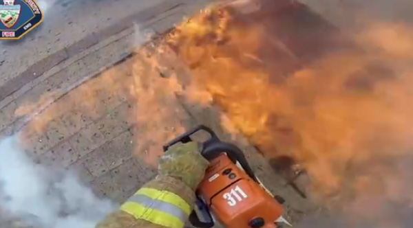 If You Ve Ever Wondered How Much Firefighters Risk For Others Watch This Body Cam Video