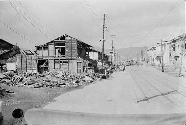 rare photos of hiroshima after the bomb