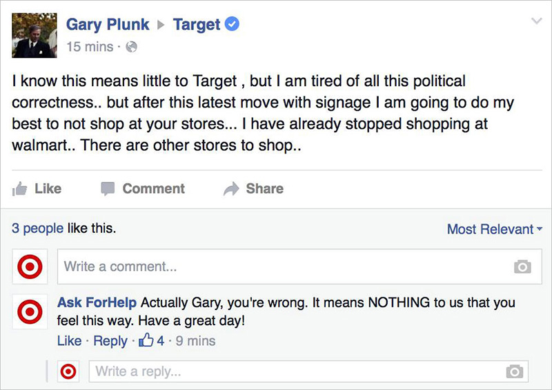 guy pretends to be target funny