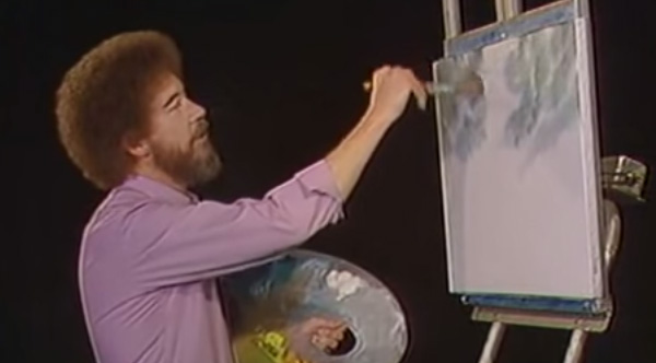 A Fan Told Bob Ross He Couldn T Paint Because He S