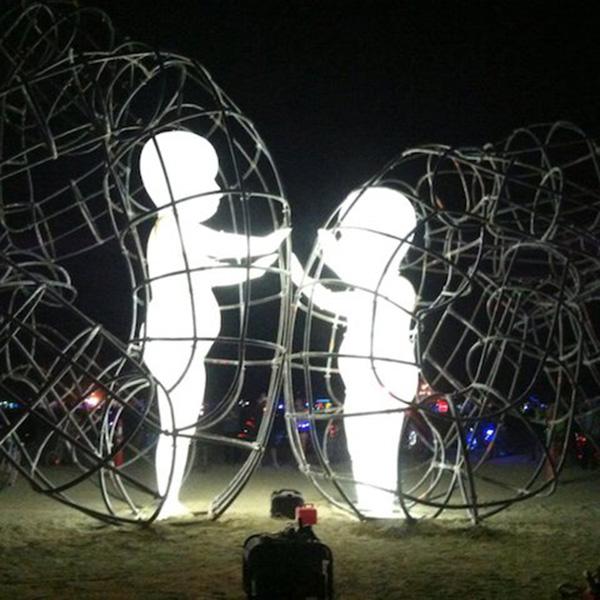powerful art at burning man