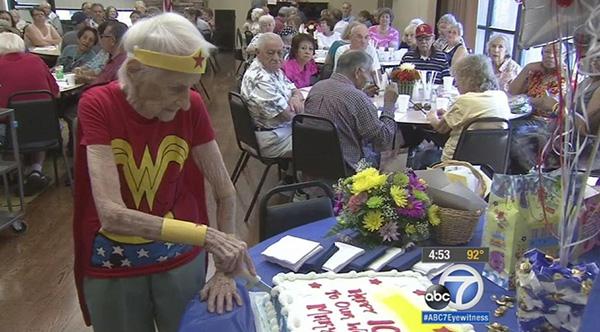 103 year-old woman wonder woman