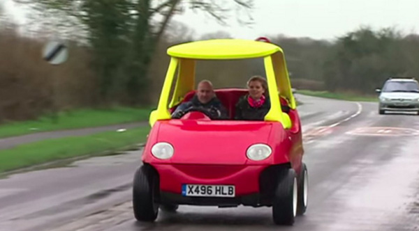 kiddie car now made for adults