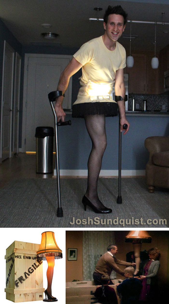 guy with one leg halloween costumes