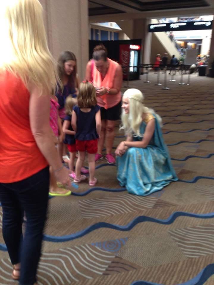 khaleesi elsa cosplay