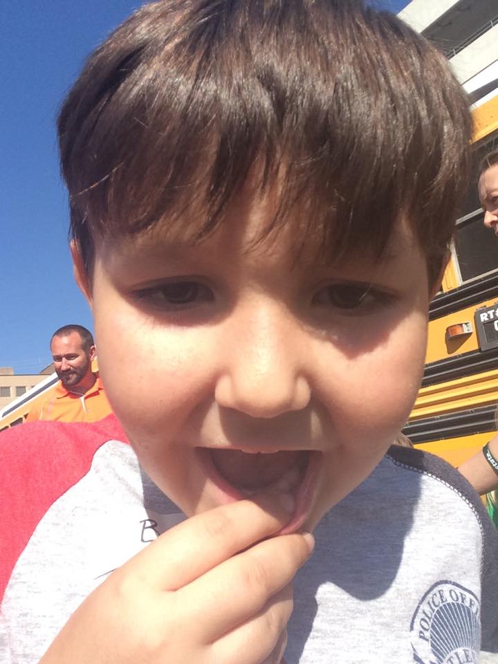 firefighters search for little boys tooth