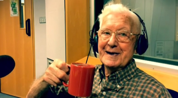 lonely old man calls radio show and cheered up