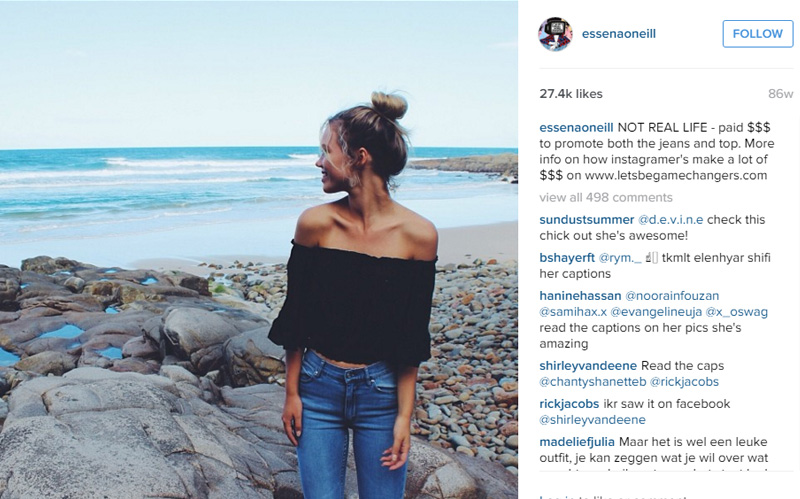 teen instagram star reveals truth about photos