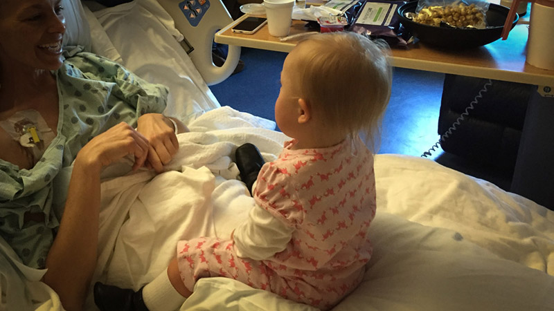 mom spends final days loving daughter