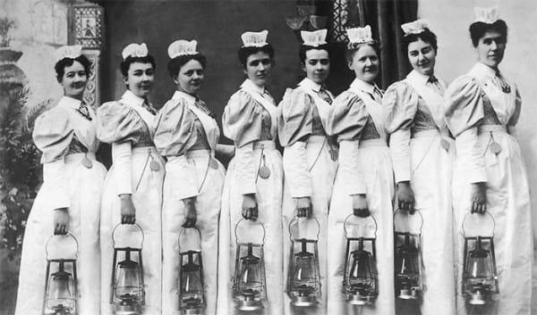 nurse rules 1800s