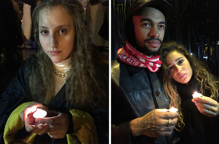 Paris vigil hallelujah