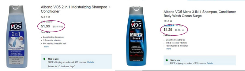 why you should always buy the mens version of similar products
