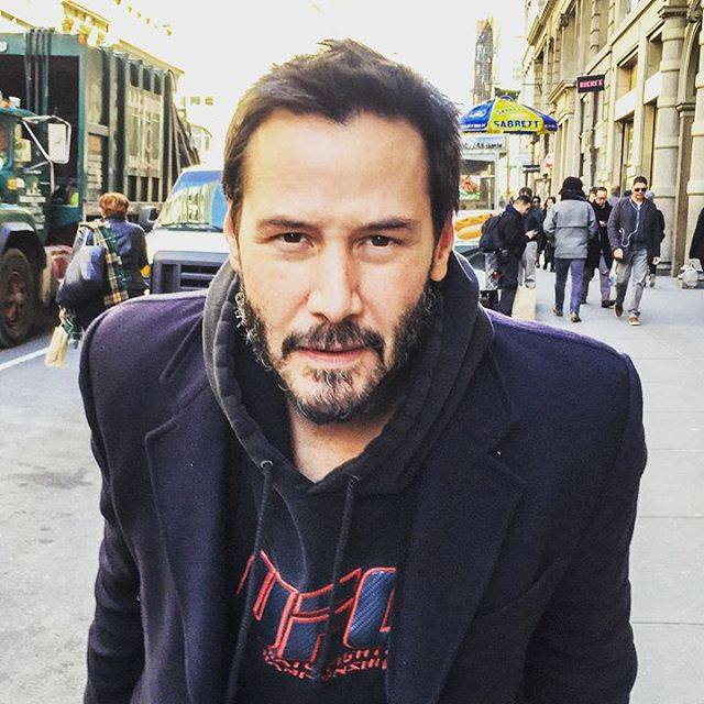 keanu reeves picture inspirational message