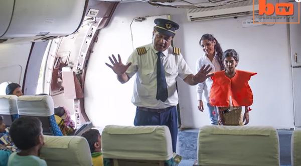 pilot takes kids on flight to nowhere