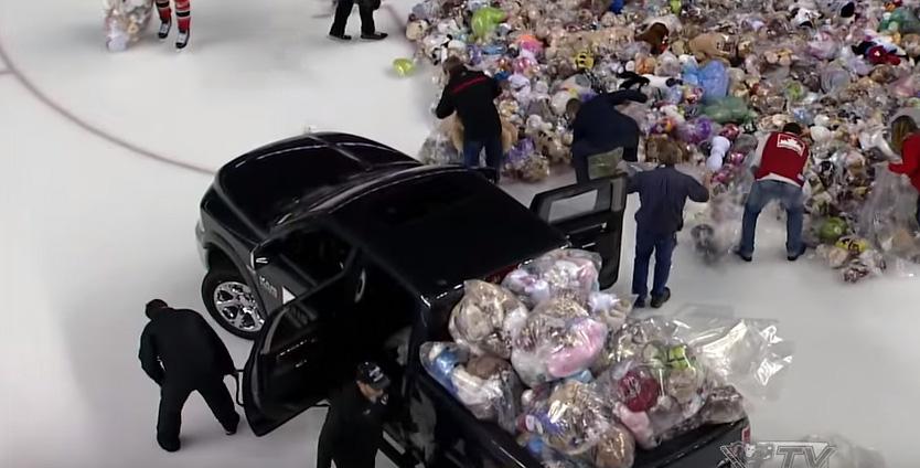 calgary teddy bear toss 2015
