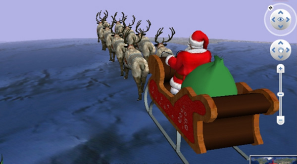 how the santa tracker started