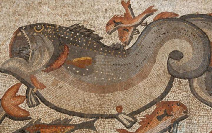ancient Roman mosaic found
