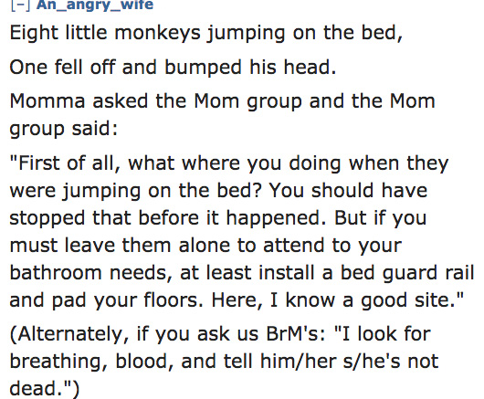 funny 10 little monkeys written by moms