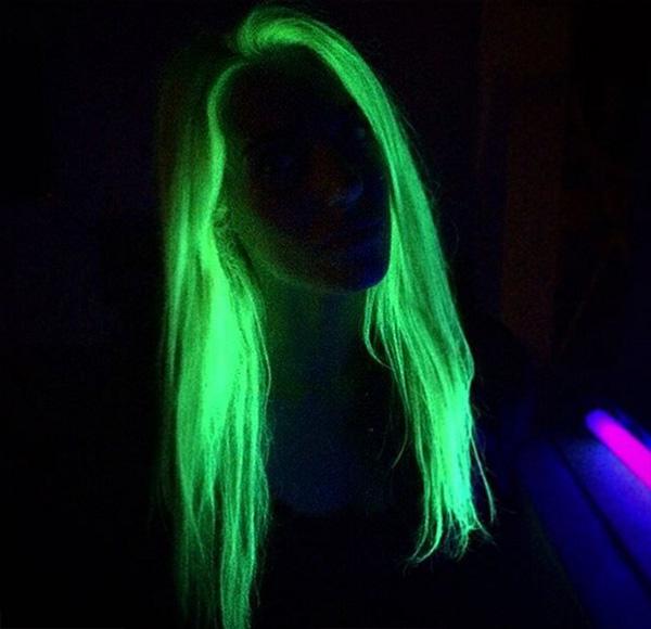 glow int he dark hair trend